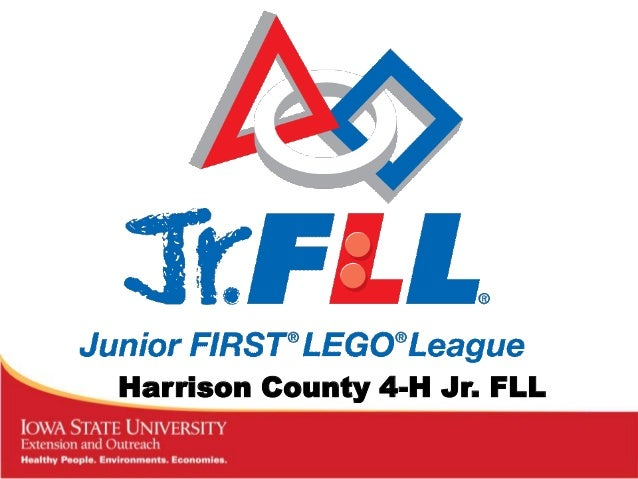 Harrison County 4-H Jr. FLL
