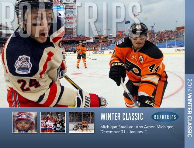 ROADTRIPS 2  WINTER CLASSIC The Ultimate in Sports Travel  Michigan Stadium, Ann Arbor, Michigan December 31 - January 2  ...