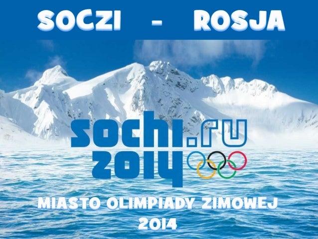 2014 Winterspiele in Szocsi