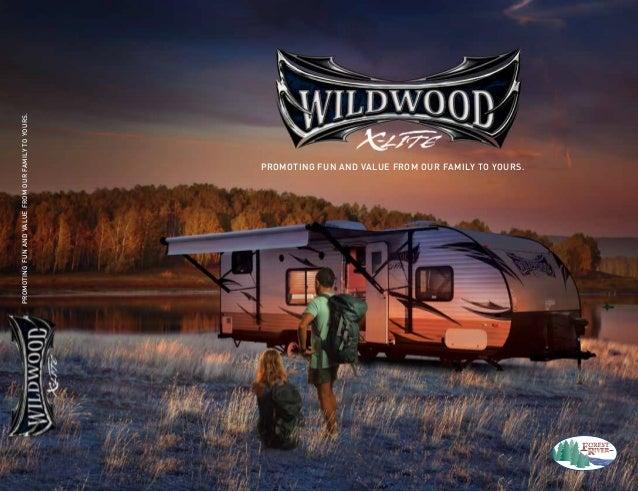 2014 Forest River Wildwood X-Lite Travel Trailer
