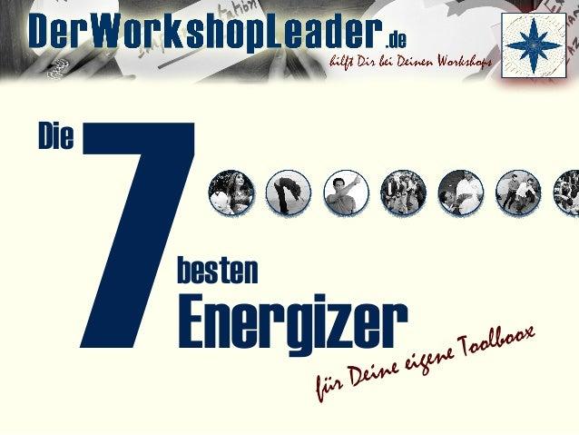 7 für Deine eigene Toolboox Die Energizer besten