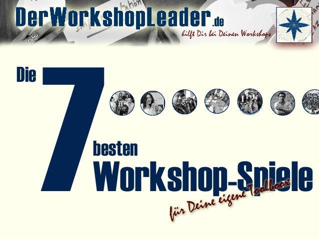 7 Die Workshop-Spiele besten für Deine eigene Toolboox