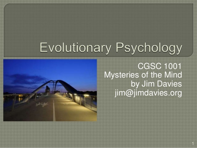 essay evolutionary psychology
