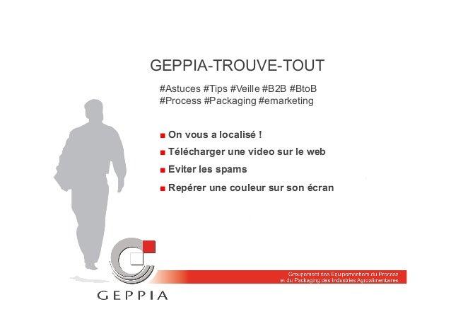 GEPPIA-TROUVE-TOUT ■ Télécharger une video sur le web ■ Eviter les spams ■ Repérer une couleur sur son écran #Astuces #Tip...