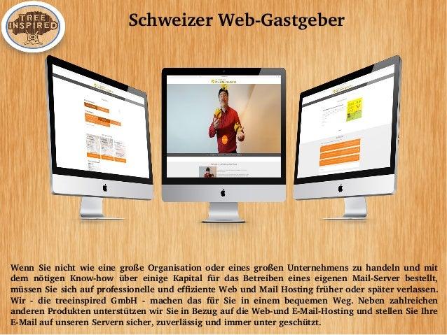 SchweizerWebGastgeber WennSienichtwieeinegroßeOrganisationodereinesgroßenUnternehmenszuhandelnundmit d...