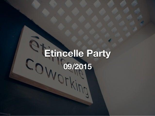 Etincelle Party 09/2015