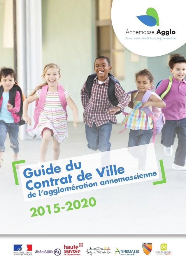 2015-2020 Guide du de l'agglomération annemassienne Contrat de Ville