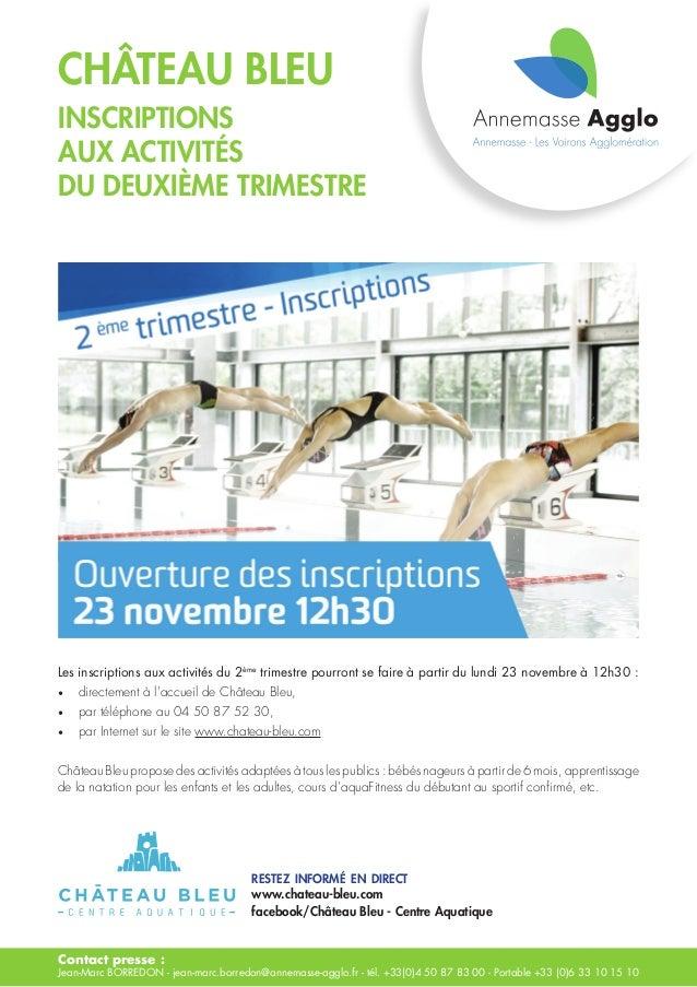 Contact presse : Jean-Marc BORREDON - jean-marc.borredon@annemasse-agglo.fr - tél. +33(0)4 50 87 83 00 - Portable +33 (0)6...