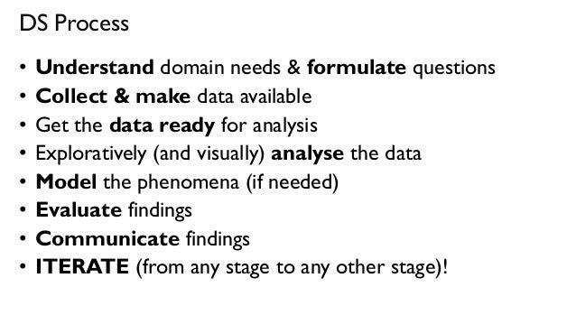 Science Data Analysis Data Ready For Analysis