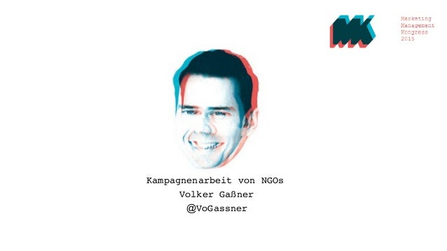 Kampagnenarbeit von NGOs Volker Gaßner @VoGassner