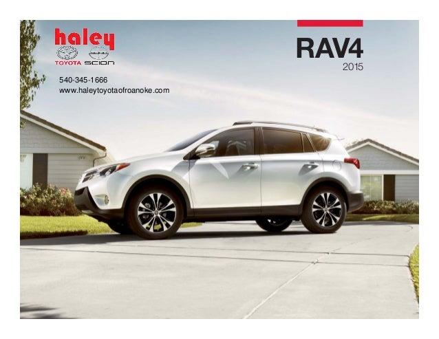 2015 Toyota Rav4 Brochure Haley Toyota Roanoke