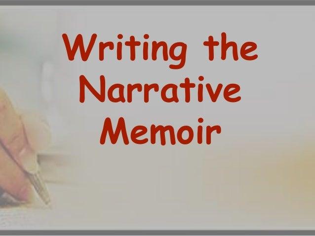 writing a memoir tips