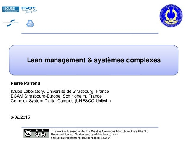 s Pierre Parrend ICube Laboratory, Université de Strasbourg, France ECAM Strasbourg-Europe, Schiltigheim, France Complex S...
