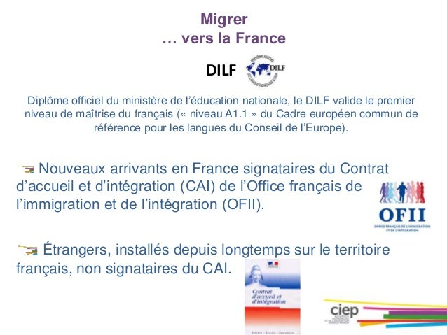 Les certifications en fle - Office francais de l immigration et de l integration lille ...
