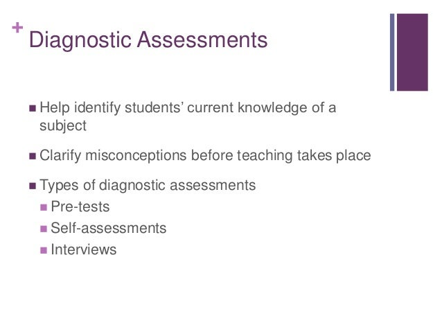 What do COLLEGE professors look for in a good writing assessment / diagnostic?