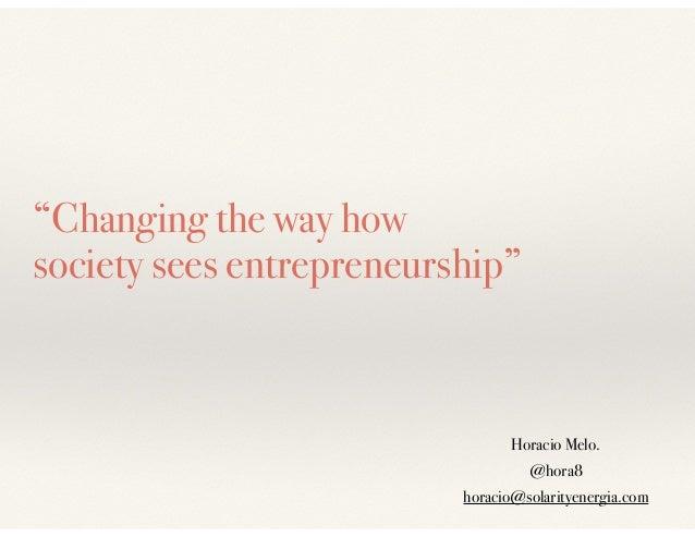mba essays on entrepreneurship