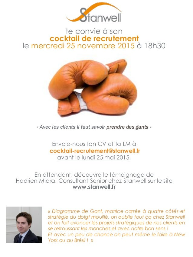 cocktail de recrutement