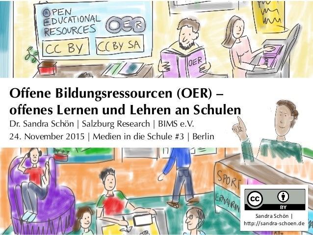 Offene Bildungsressourcen (OER) –