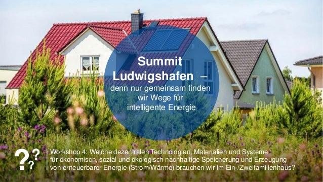 150 years150 years Workshop 4: Welche dezentralen Technologien, Materialien und Systeme für ökonomisch, sozial und ökologi...