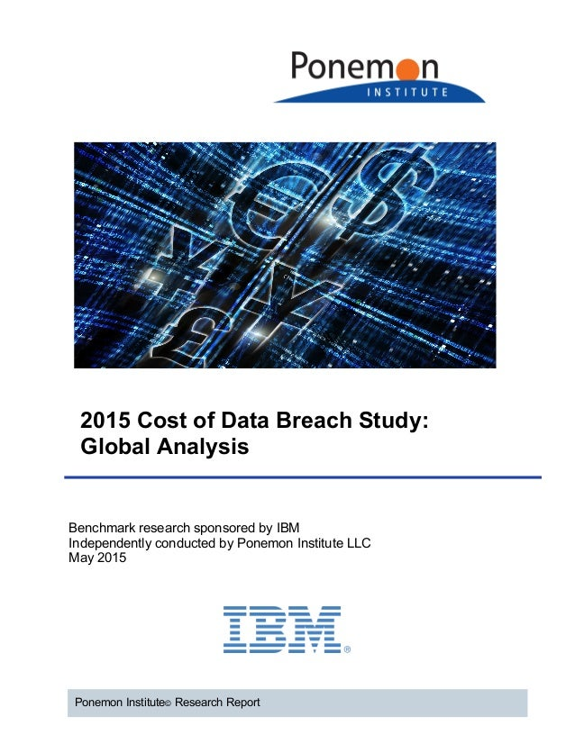 data breach research paper The impact of data breaches on reputation & share value: a study of marketers,  it practitioners and consumers in the united kingdom, conducted by.