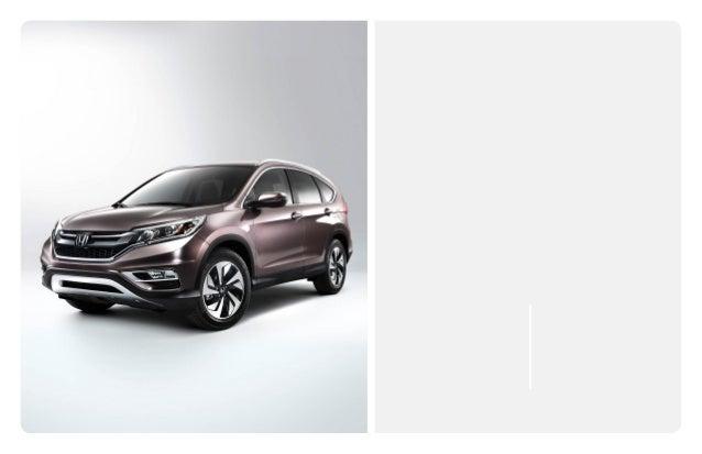 2015 honda cr v brochure jackson ms area honda dealer for Honda cr v brochure