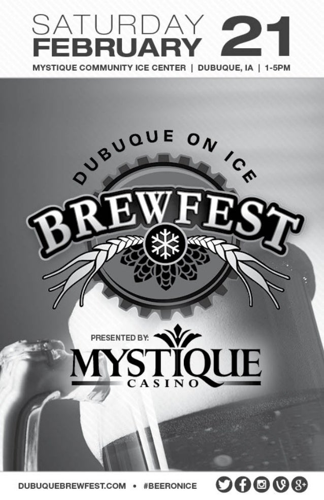2015 Dubuque on Ice Brewfest Guide