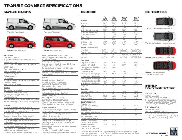 Ford Dealership Indianapolis >> 2015 Ford Transit Connect Information Brochure- Bloomington Ford, a D…