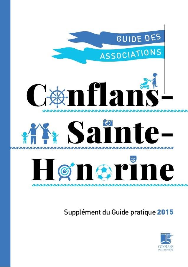 C nflans- Sainte- H n rine ASSOCIATIONS GUIDE DES Supplément du Guide pratique 2015
