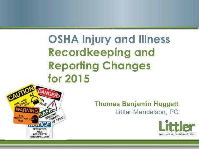 injury and illness reporting