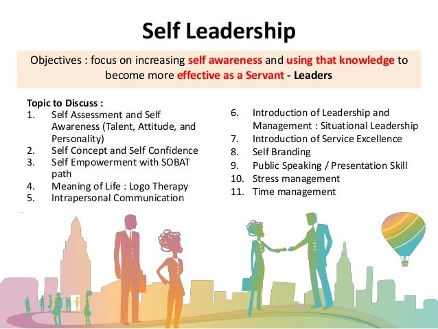 Situational Leadership Self Assessment Leadership