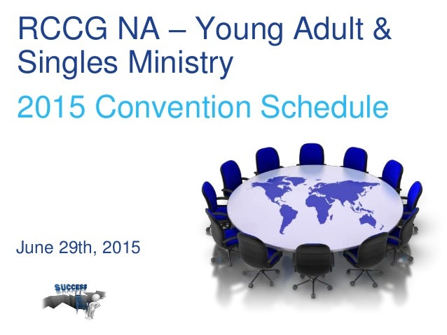ministry singles Young adult