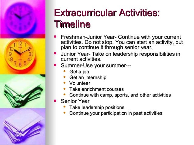 What are good extracurricular activities for college applications?
