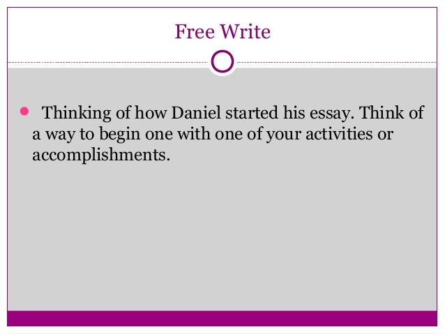 personal philosophy of success essay