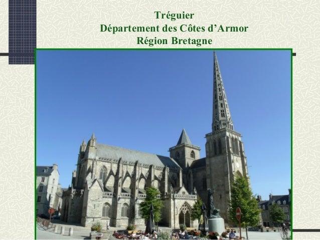Tréguier Département des Côtes d'Armor Région Bretagne