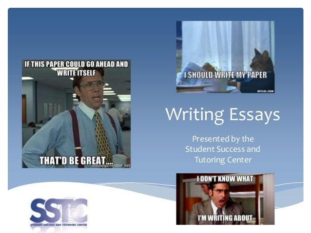 student success essays