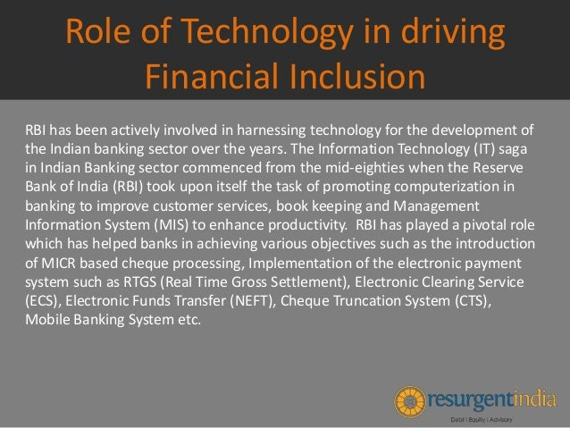 role of government in financial inclusion Agencies of the british government moved toward a framework for financial  does technological innovation equal financial inclusion: what will be the role for.