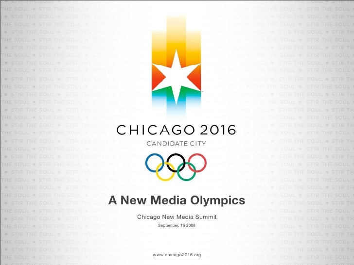 Chicago2016: A New Media Olympics