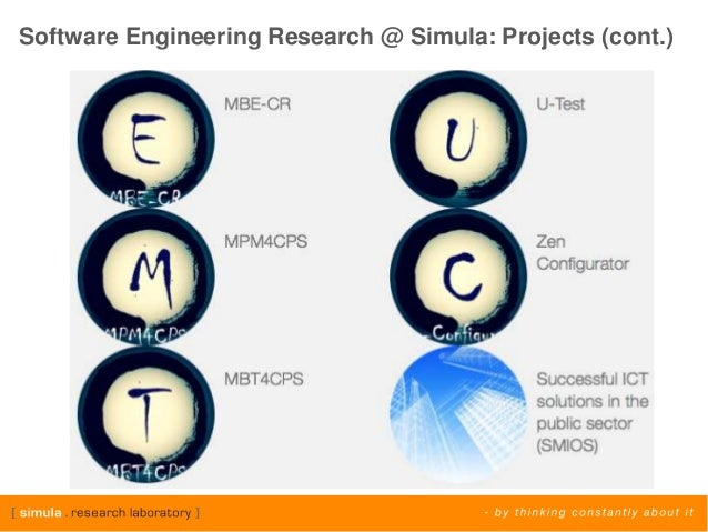 Software engineering thesis topics