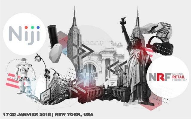 17-20 JANVIER 2016   NEW YORK, USA
