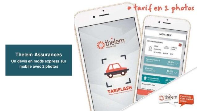 Thelem Assurances Un devis en mode express sur mobile avec 2 photos