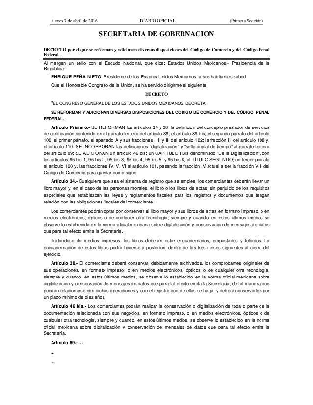 Codigo De Comercio Mexico 2016 | cdigo de comercio pdf