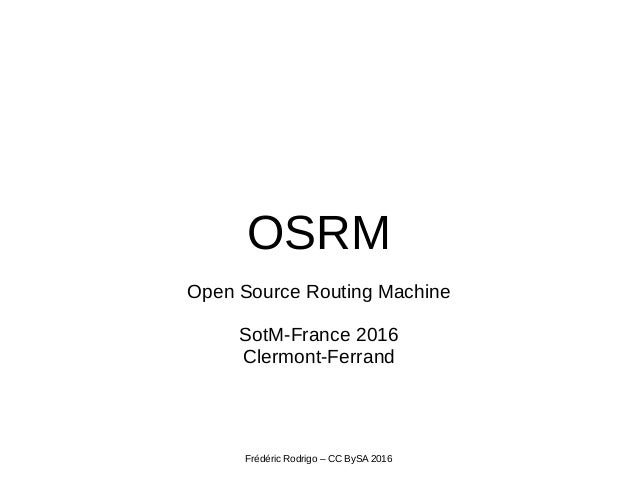open source routing machine