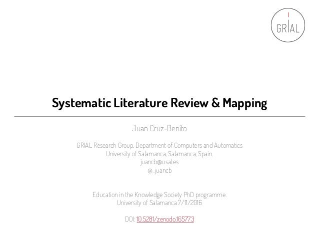 systematic literature review tools Systematic review critical appraisal tools contained unique items (such as identification of relevant studies, search strategy used, number of studies included, protocol adherence) compared with tools used for primary studies, a reflection of the secondary nature of data synthesis and analysis  however, as more systematic literature reviews.