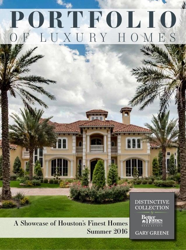 2016 portfolio of luxury homes houston and the woodlands