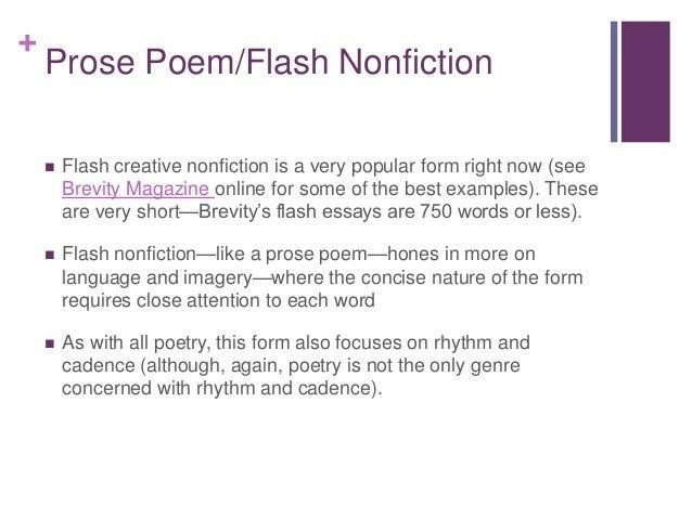 essay nonfiction genre