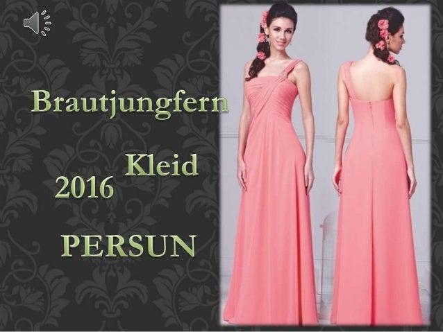 2016 neue brautjungfernkleider online persun kleid