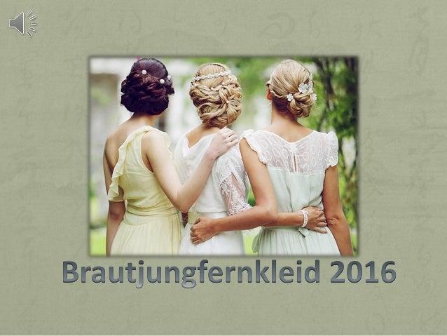 2016 trends der brautjungfernkleider farbe