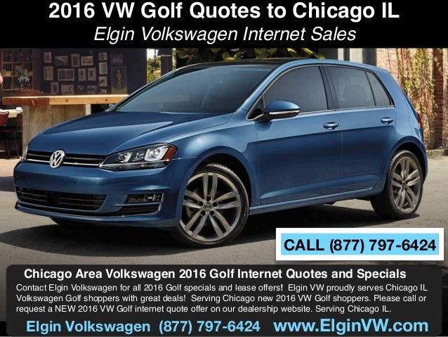 2016 vw golf quotes to chicago il. Black Bedroom Furniture Sets. Home Design Ideas