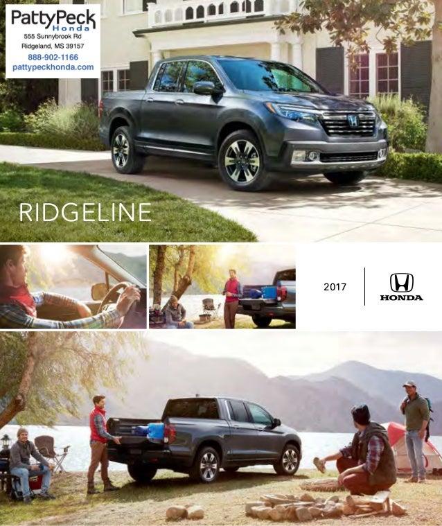 2017 honda ridgeline brochure jackson area honda dealer for Honda dealership jackson ms