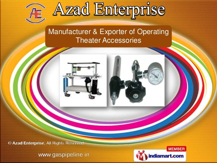 Manufacturer & Exporter of Operating       Theater Accessories